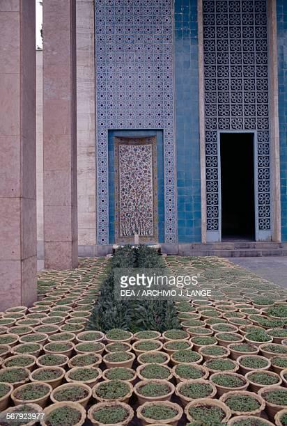 The mausoleum of Saadi Shirazi Shiraz Iran Detail