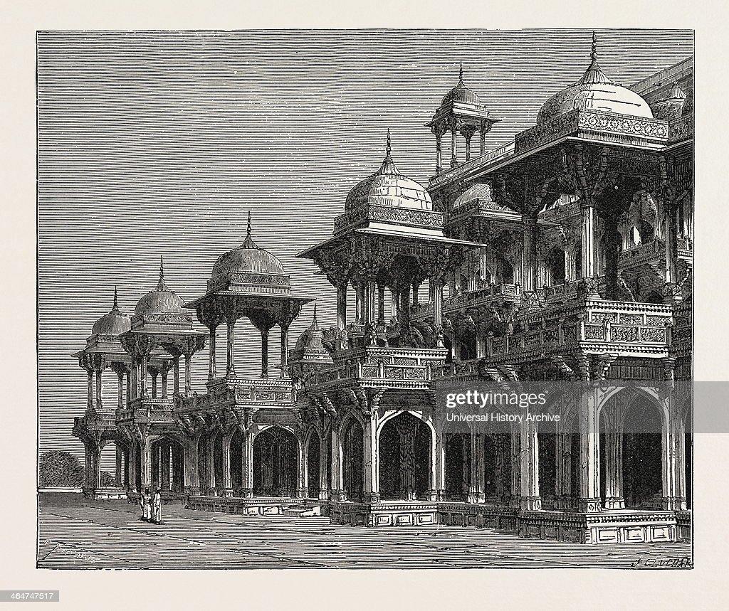 The Mausoleum Of The Emperor Akbar : News Photo