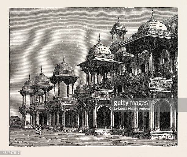 The Mausoleum Of The Emperor Akbar At Sikandra A Suburb Of Agra City
