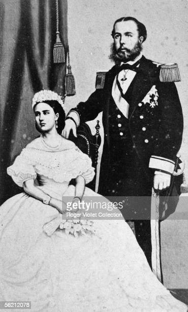 The Maximilien emperor of Mexico and the empress Charlotte .