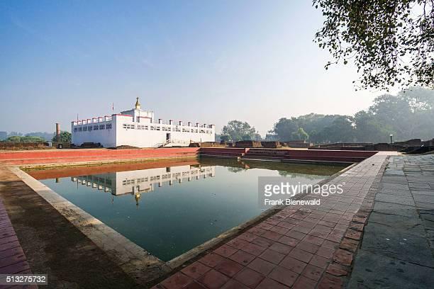 The Mayadevi Temple contains the birthplace of Siddhartha Gautama the present Buddha
