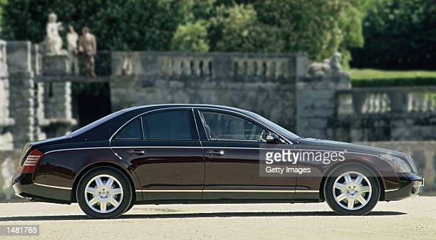 The Maybach 57 luxury car is shown in this undated file photo DaimlerChrysler has relaunched the Maybach brand as a topend luxury car meant to...