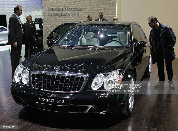 The Maybach 57 S is seen at its world premiere 02 March 2005 at the 75th Geneva Motor Show in the western Swiss city The show opens to the public 03...