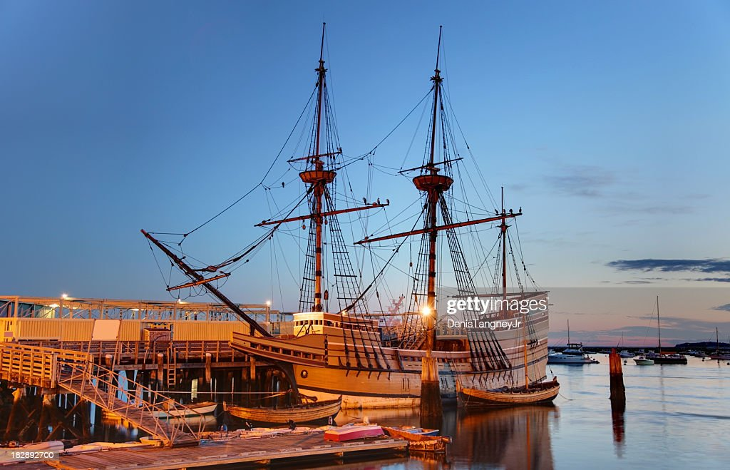 The Mayflower II : Stock Photo