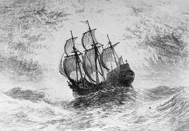 1620, The Mayflower, the ship in which the Pilgrims...