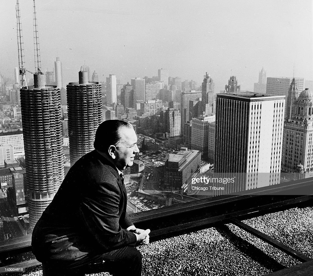 probably the most powerful of America's big-city bosses and the mayor who presided over the building of many large public-works projects in the city, Richard J. Daley left an indelible stamp on Chicago. This photo, taken in 1966, was one of his favorites.