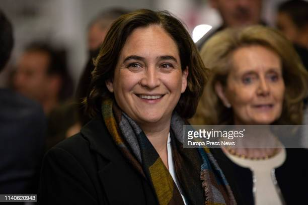 The mayor of Barcelona, Ada Colau, is seen at the Inauguration of the 'Salo del Comic' of Barcelona on April 05, 2019 in Barcelona, Spain.