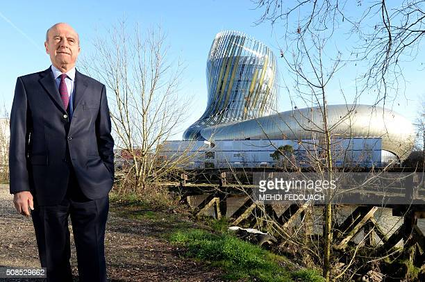 The Mayor of Bordeaux and former French prime minister Alain Juppe poses for a photograph on the banks of the Garonne River on February 5 in the...