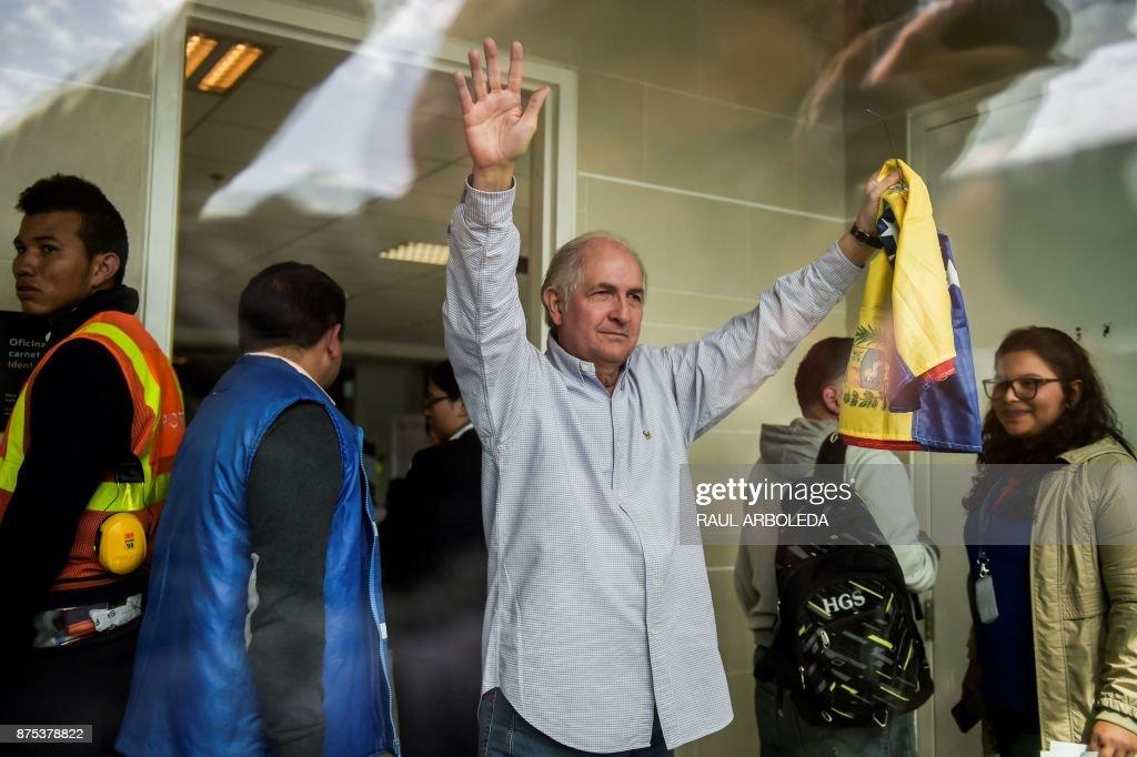 COLOMBIA-VENEZUELA-OPPOSITION-LEDEZMA : News Photo