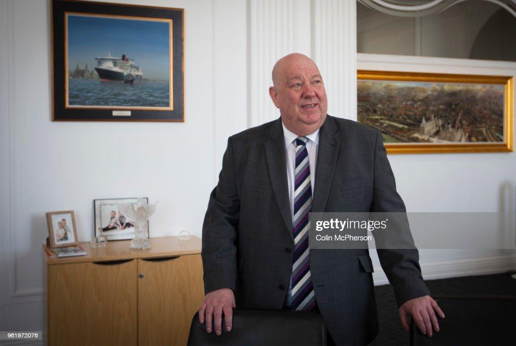 United Kingdom - Liverpool - Liverpool Mayor Joe Anderson : Nachrichtenfoto