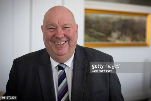 The Mayor of Liverpool, Cllr Joe Anderson, pictured in the mayor's Office within the Cunard Building in Liverpool.