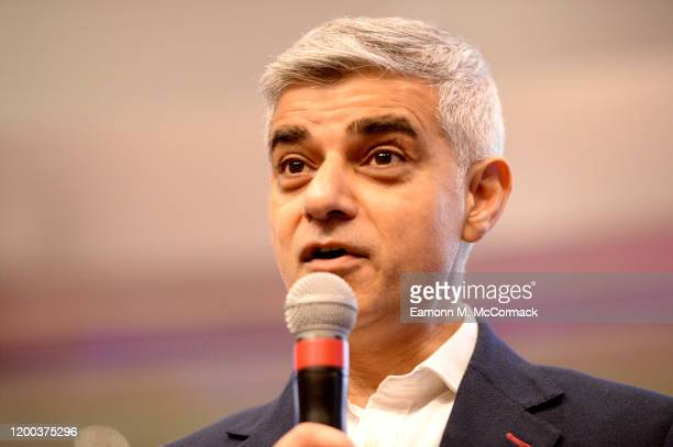 The Mayor of London, Sadiq Khan, joins guests for RISE, the opening event for Brent London Borough of Culture 2020, hosted by Wembley Park at Wembley...