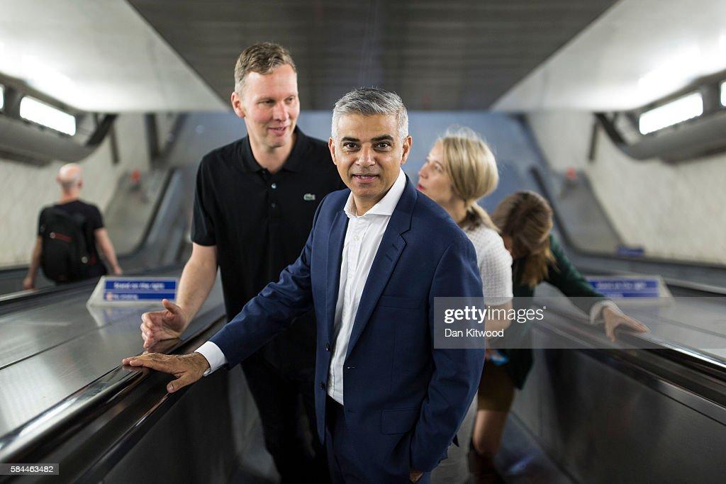 Artist David Shrigley Joins Mayor Sadiq Khan For London Is Open Campaign
