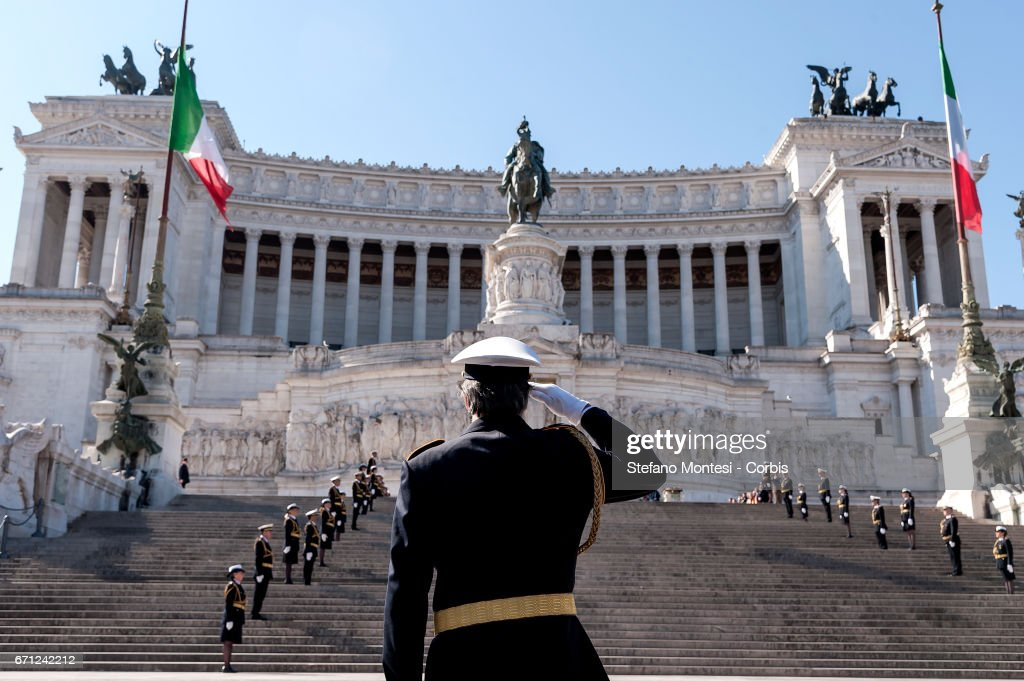 Celebrations For The 2770th Anniversary Of The Founding Of Rome : ニュース写真