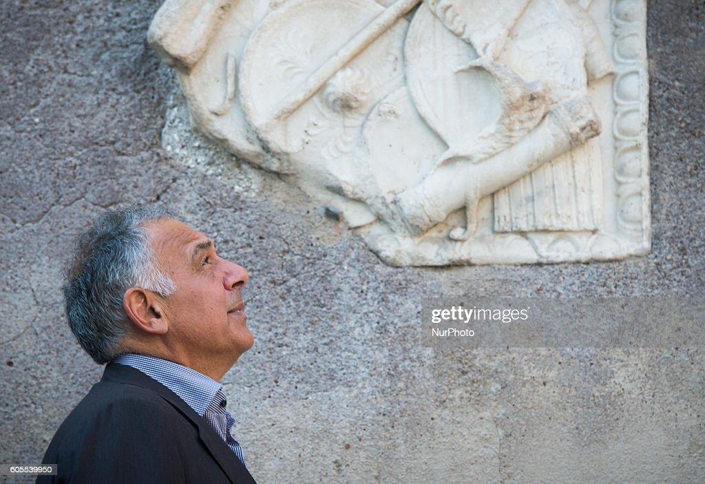Mayor of Rome Virginia Raggi receives the A.S. Roma's president James Pallotta : Foto di attualità