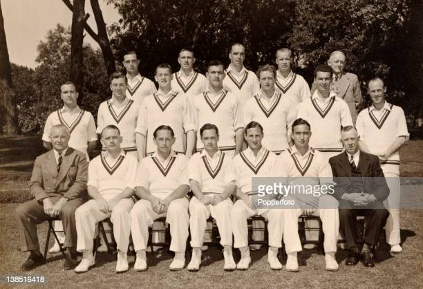 The MCC England cricket team during their tour of South Africa in the winter of 194849 Under the captaincy of FGMann England were unbeaten on this...