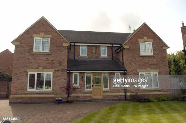 The McCann family home in Rothley Leicestershire as the family arrive home without missing daugher Madeleine today