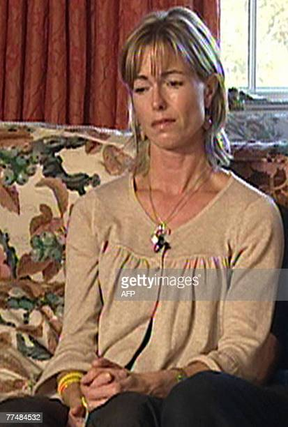 The McCann's give an interview with a Spanish television channel at their home in Rothley 24 October 2007 The parents of British girl Madeleine...