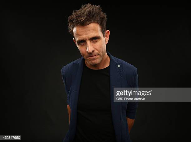 CBS' 'The McCarthys' actor Joey McIntyre poses for a portrait during CBS' 2014 Summer TCA tour at The Beverly Hilton Hotel on July 17 2014 in Beverly...
