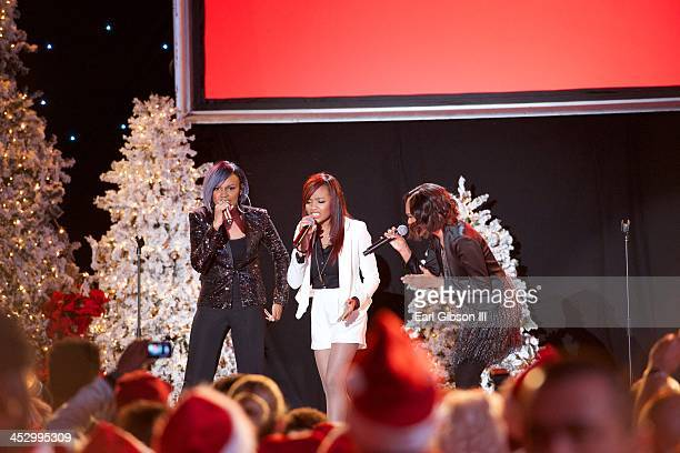 The McClain Sisters perform at The Hollywood Christmas Parade on December 1 2013 in Hollywood California