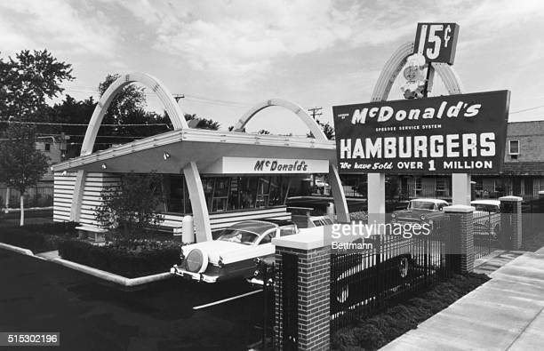 The McDonald's Museum is a replica of the first corporate McDonald's restaurant opened here April 15 after the franchise was acquired from founders...