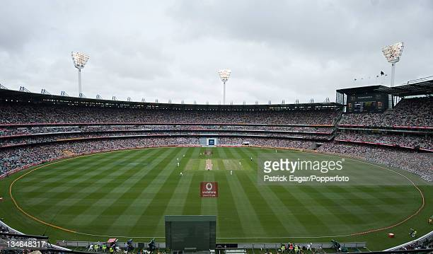 The MCG with a Boxing Day crowd of 84 Australia v England 4th Test Melbourne December 201011