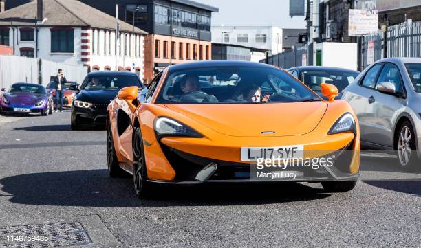 The McLaren 570s attending 'Supercar Sunday' Hosted by HR Owen in Acton London The 570s was unveiled at the 2015 New York International Auto Show...