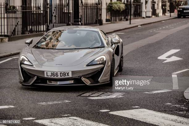 The McLaren 570S seen driving the streets of London The 570S was unveiled at the 2015 New York International Auto Show McLaren predicts the model...