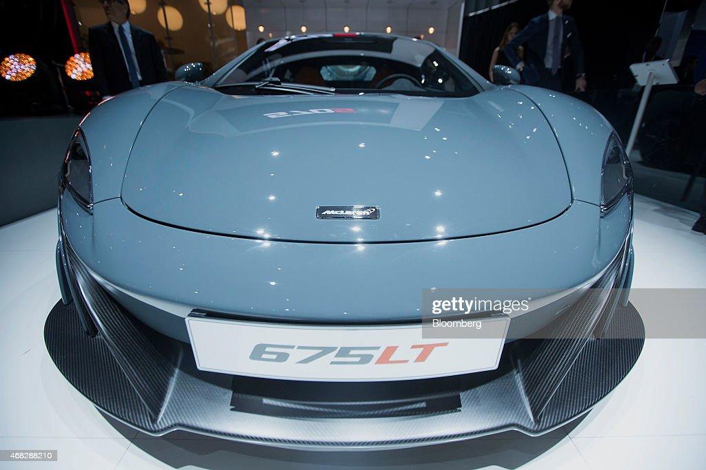 Inside The 2015 New York International Auto Show : News Photo