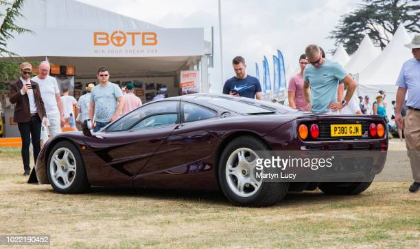 The McLaren F1 On display at this years Goodwood Festival of Speed this McLaren is one of the more well known cars due to its owner being actor and...