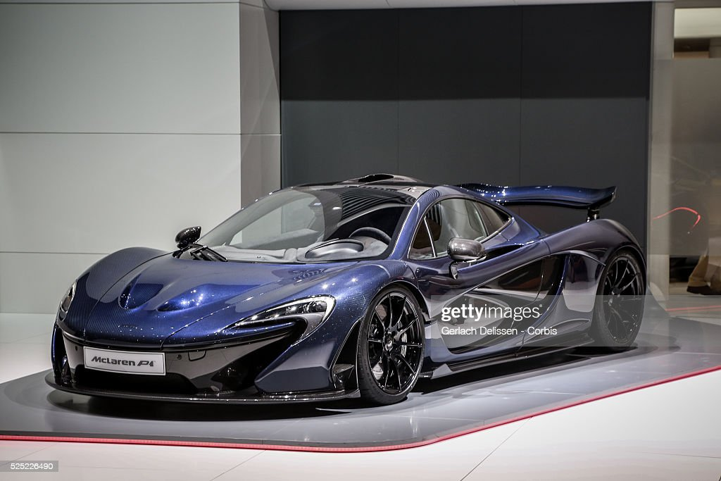 The McLaren P1 on display at the 86th Geneva International Motorshow at Palexpo in Switzerland, March 2, 2016.