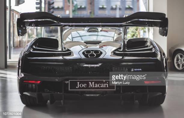 The McLaren Senna at Joe Macari Performance Cars in Wandsworth London The McLaren Senna is a limitedproduction midengine hypercar costing £750000...