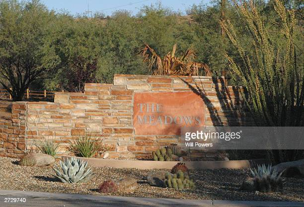The Meadows a residential drug rehabilitation center is seen November 14, 2003 in Wickenburg, Arizona.