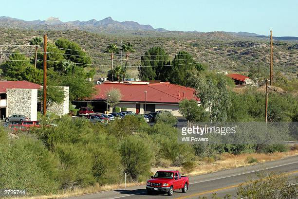 The Meadows a residential drug rehabilitation center is seen November 14 2003 in Wickenburg Arizona