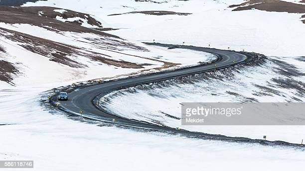 The Meandering Road in Iceland