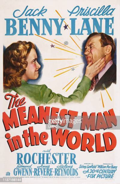 The Meanest Man In The World poster US poster art from left Priscilla Lane Jack Benny 1943