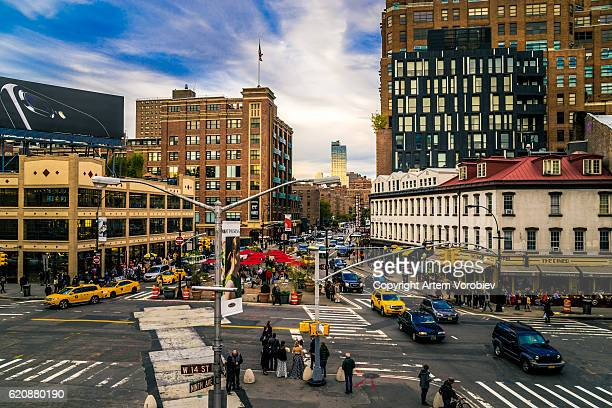 The Meatpacking District in the afternoon
