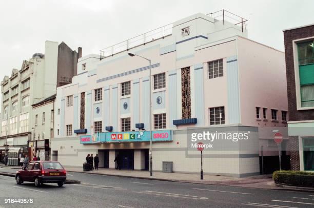 The Mecca Bingo Hall in Stockton High Street, formerly The Globe, 12th January 1996.