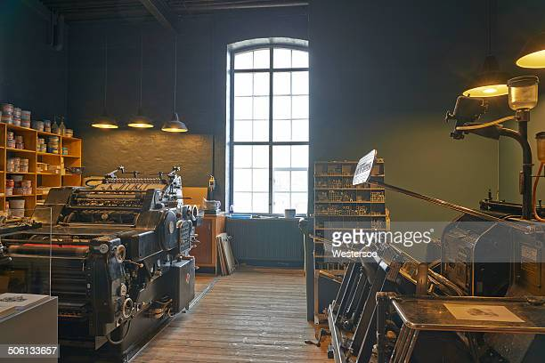 the media museum - printing press stock pictures, royalty-free photos & images