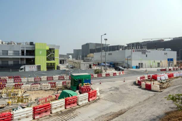 CHN: Views of the Temporary North Lantau Hospital Hong Kong Infection Control Centre