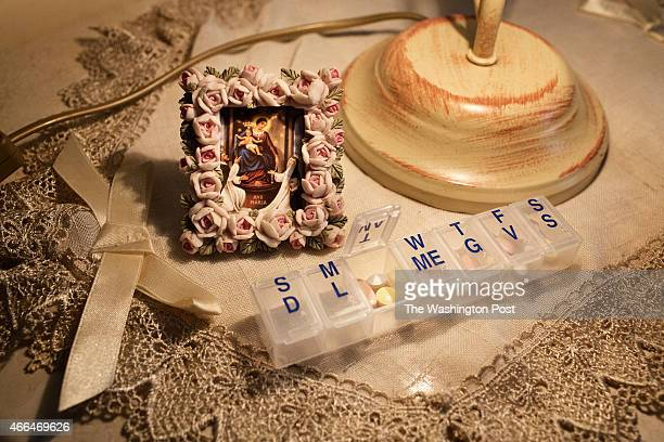 The medication taken every day by the victim of a pedophile priest near Naples Italy on March 2 2015 At the end of the school year he says Don...