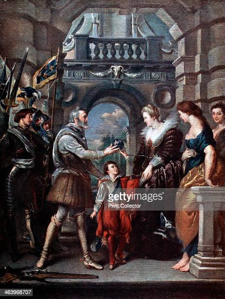 'The Medici Cycle Henri IV leaving for the war in Germany 20th March 1610' Henri IV leaves for the war and bestows the government of his kingdom to...