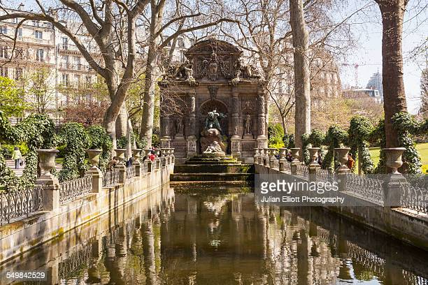 The Medici Fountain in the Jardin du Luxembourg