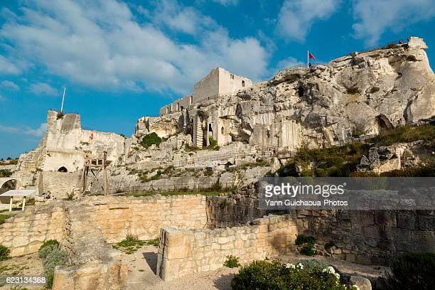 The Medieval Castle Ruins, Les Baux de Provence, Paca, France