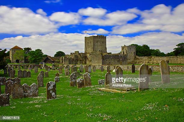 The medieval Portchester Castle is set within the walls of a 3rd-century Roman fort and it stands imposingly on a low lying tongue of land that...