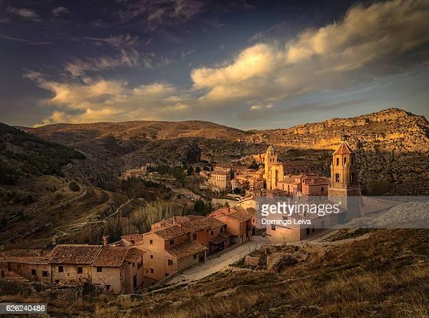 The Medieval Village of Albarracin at sunraise, Spain
