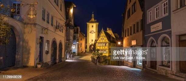 The Medieval Village Rothenburg Ob Der Tauber