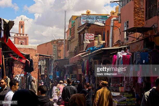 the medina, marrakech. - マラケシュ ストックフォトと画像