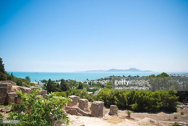 The Mediterranean sea from Carthage