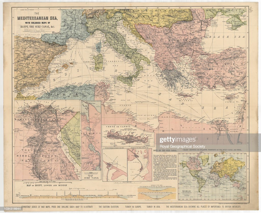 The Mediterranean Sea, with enlarged maps of Egypt and the ... on naqada map, beirut map, library of alexandria map, tokyo map, djibouti map, strait of hormuz map, pithom map, red sea map, ras gharib map, sinai map, jerusalem map, bombay map, assiut map, khartoum map, aden map, giza egypt map, middle east map, mogadishu map, elburz mountains map, bay of bengal map,
